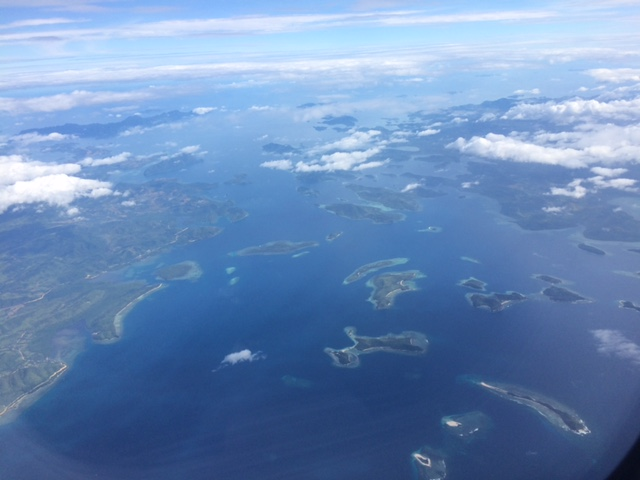 Bacuit Bay dall'aereo Gayly Planet